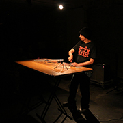 live at cafe OTO, London 2015